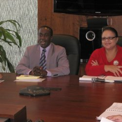 Photo Digest » Minister of Information meets with BCJ Commissioners and Staff